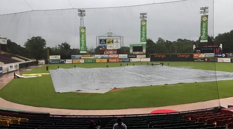 Supenden por lluvias juego Estrella – Gigantes en el Julián Javier