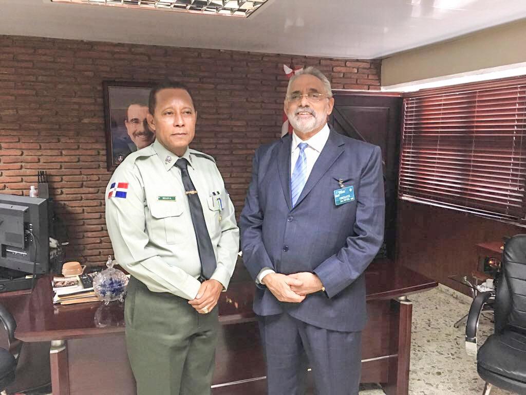 Presidente LIDOM se reúne con Director de AMET