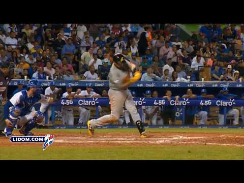Águilas vencen a los Tigres en inicio del béisbol dominicano