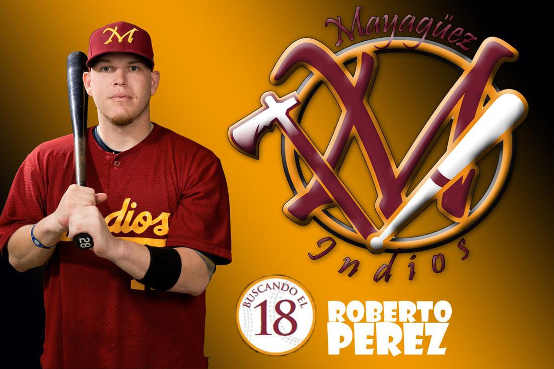 Roberto Pérez, receptor contratado por Licey