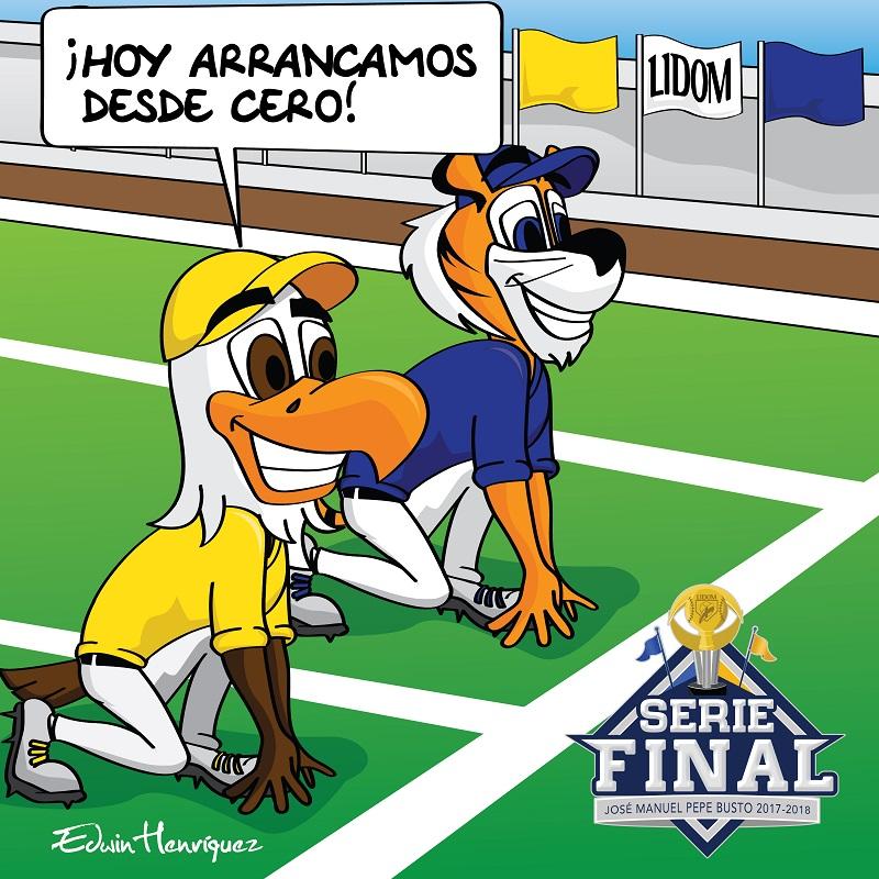 Hoy arranca la Serie Final!