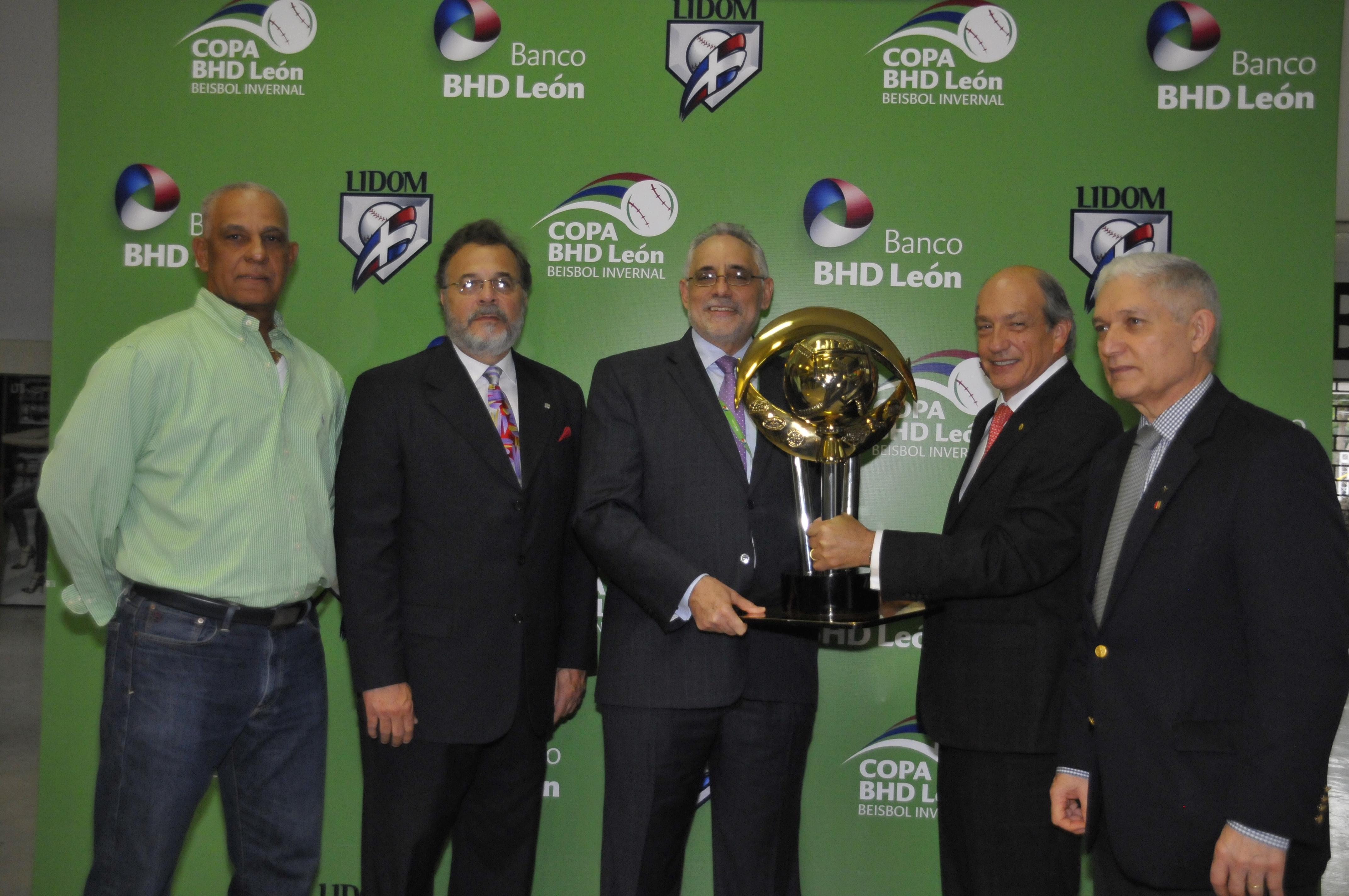 LIDOM y el Banco BHD León presentan copa torneo béisbol