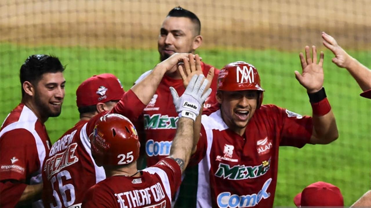 México vence 3-2 a Dominicana