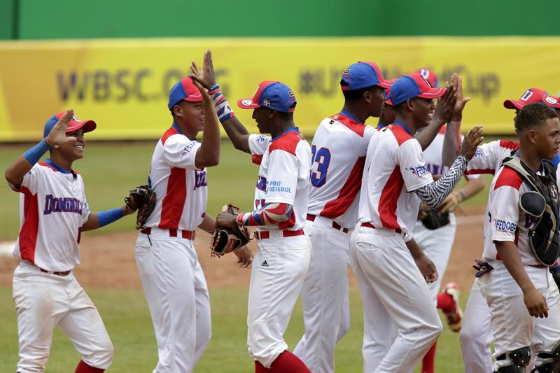 Dominicana derrota 4-3 China Taipei béisbol U-15