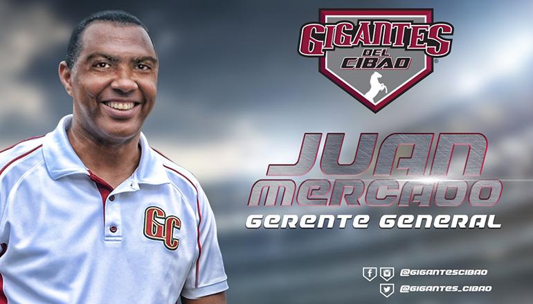 Alfredo Acebal y Juan Mercado designados Vicepresidente y Gerente General de los Gigantes del Cibao