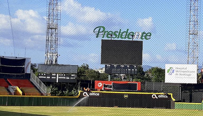 Águilas Cibaeñas adquieren moderna pantalla gigante para el estadio Cibao