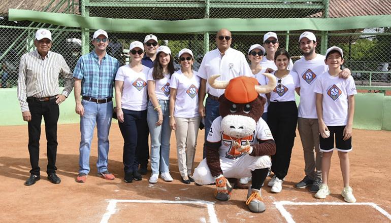 Fundación Gamma dedica Invitacional de béisbol de Pequeñas Ligas a don Carlos Morales Troncoso