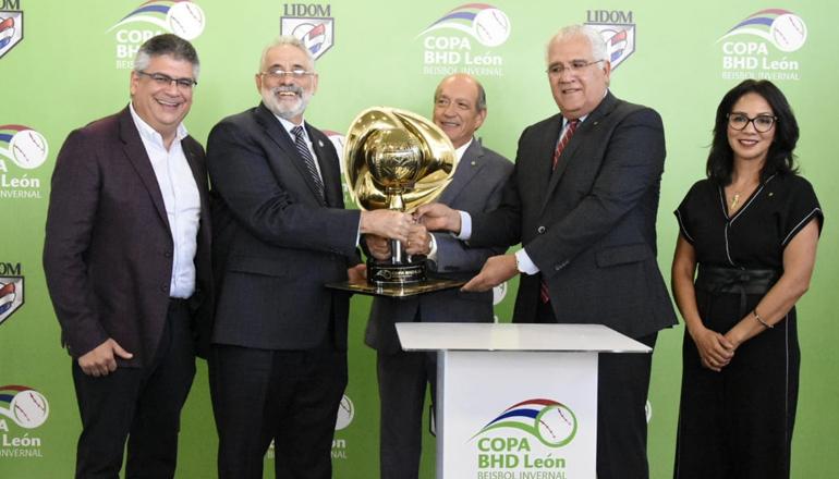 Lidom y Banco BHD León presentan Copa BHD León del torneo 2019-2020
