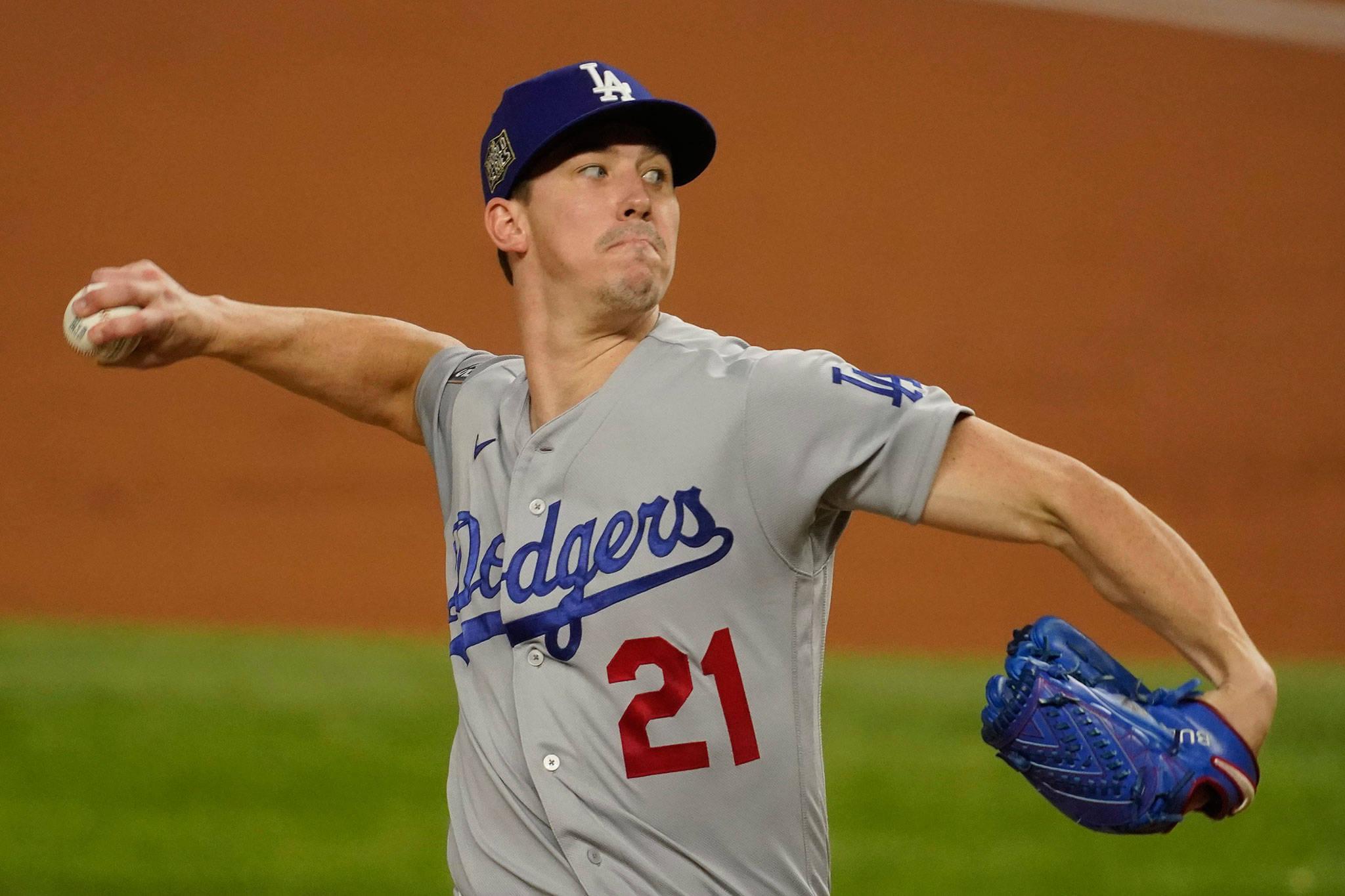 Dodgers controlan a los Rays con Buehler a la cabeza y toman ventaja 2-1 en la Serie Mundial