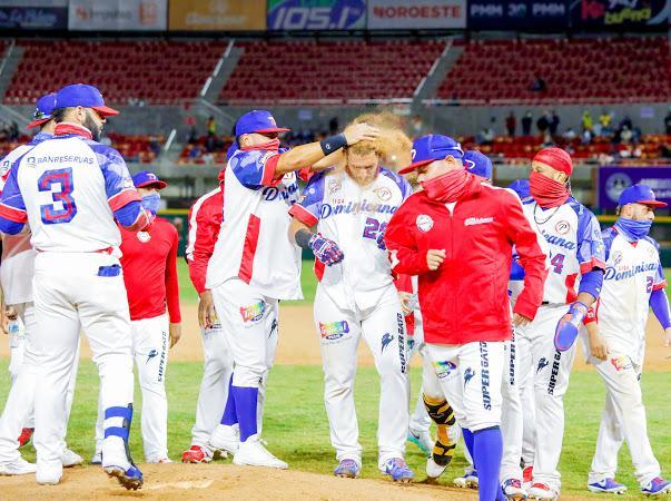 """Rangel Ravelo: """"Estoy muy satisfecho""""; decide victoria RD ante Colombia en la Serie del Caribe; invicto es de 5-0"""