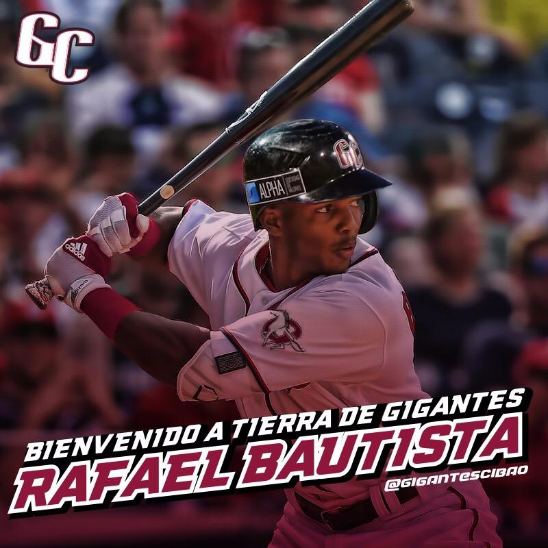 Gigantes adquieren a Rafael Bautista