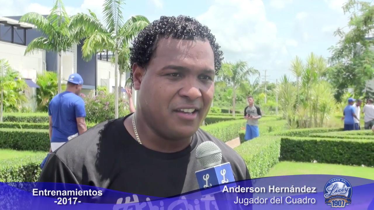 """Anderson Hernández: """"Lo que me den yo lo cojo"""""""