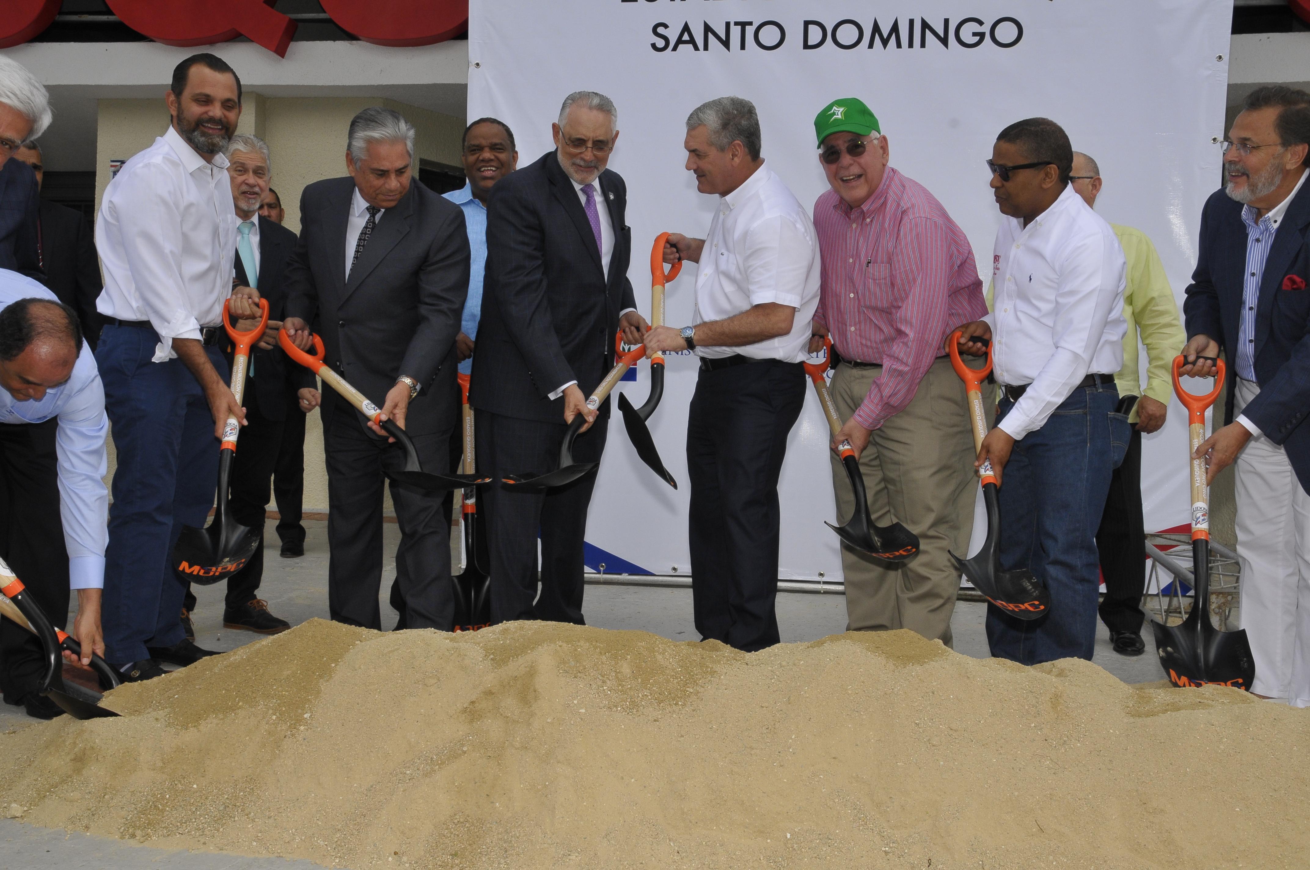 MOPC inicia reconstrucción del Séptimo Cielo