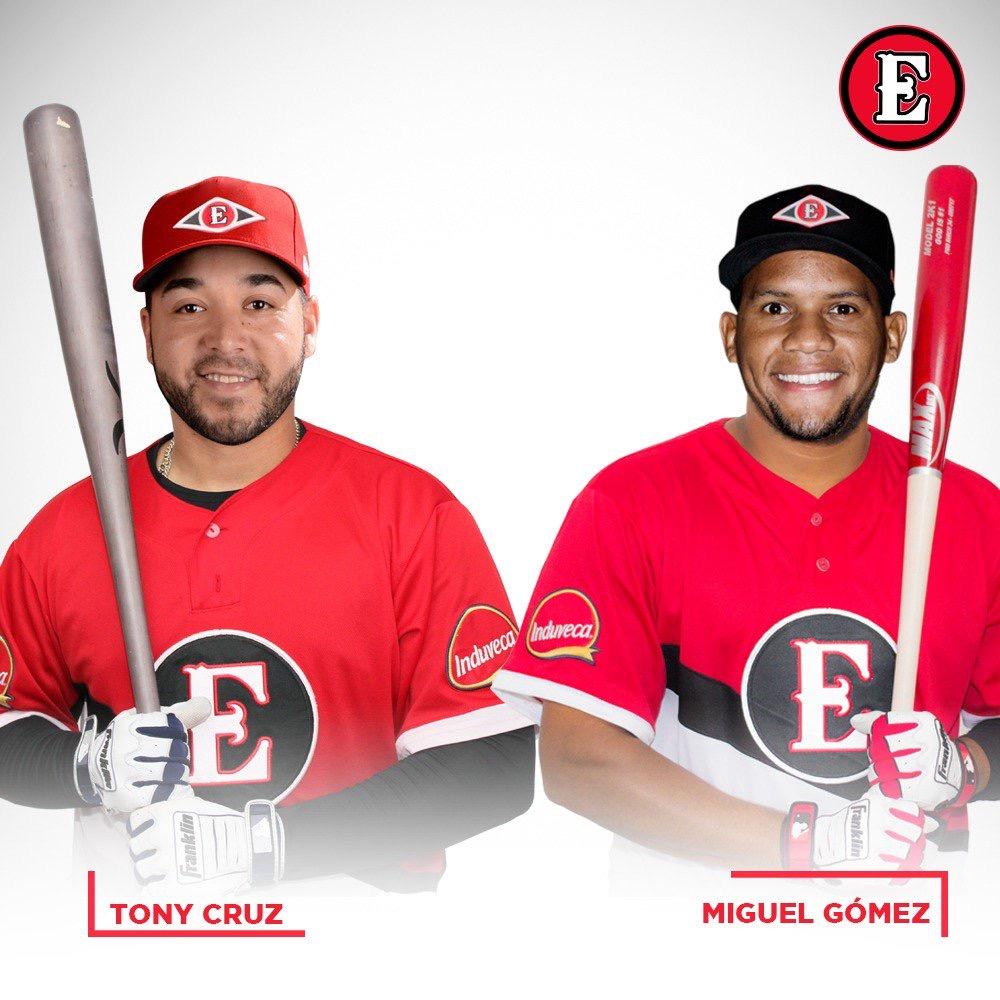 Escogido recibe a Miguel Gómez y a Tony Cruz