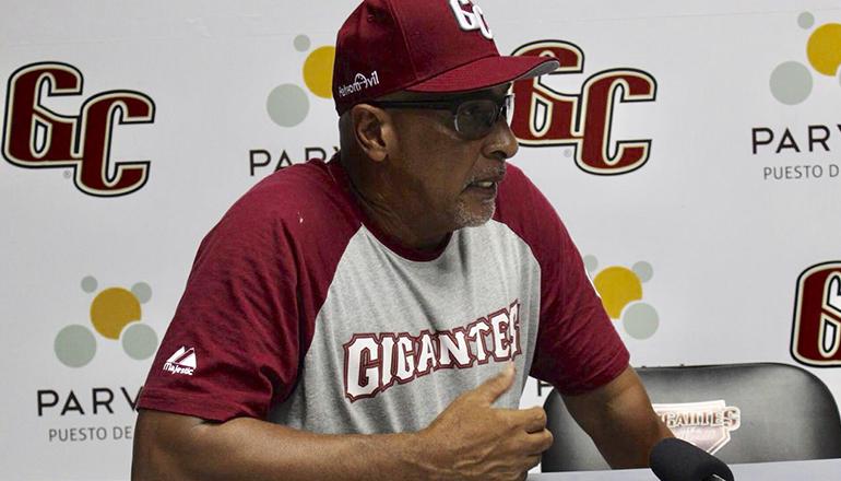 Edwin Rodríguez espera que la ofensiva de Gigantes mejore