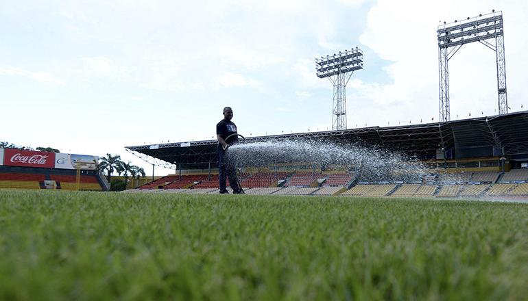 Estadio Cibao sometido a un remozamiento para hacerlo mas atractivo y cómodo para jugadores y aficionados