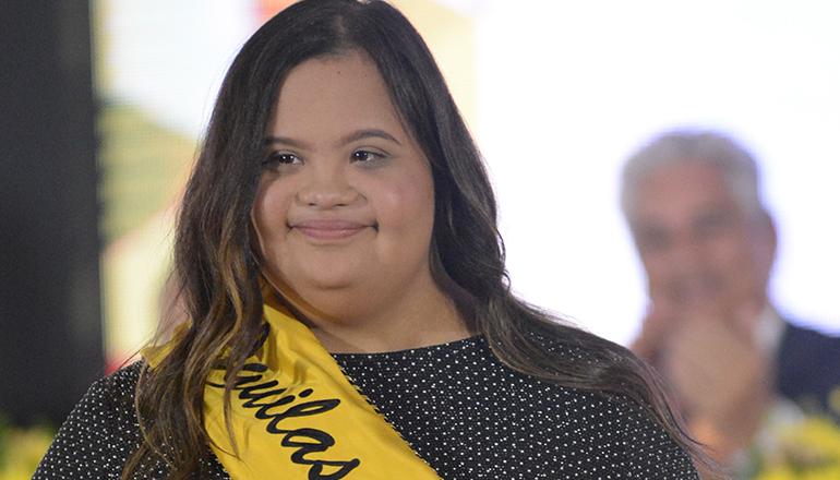 Maria Laura Vásquez Fernández es la nueva madrina de Águilas Cibaeñas