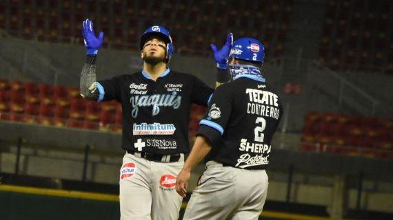 Yaquis superan a Venados y siguen en la cima en Liga Mexicana; Monterrey domina a Guasave