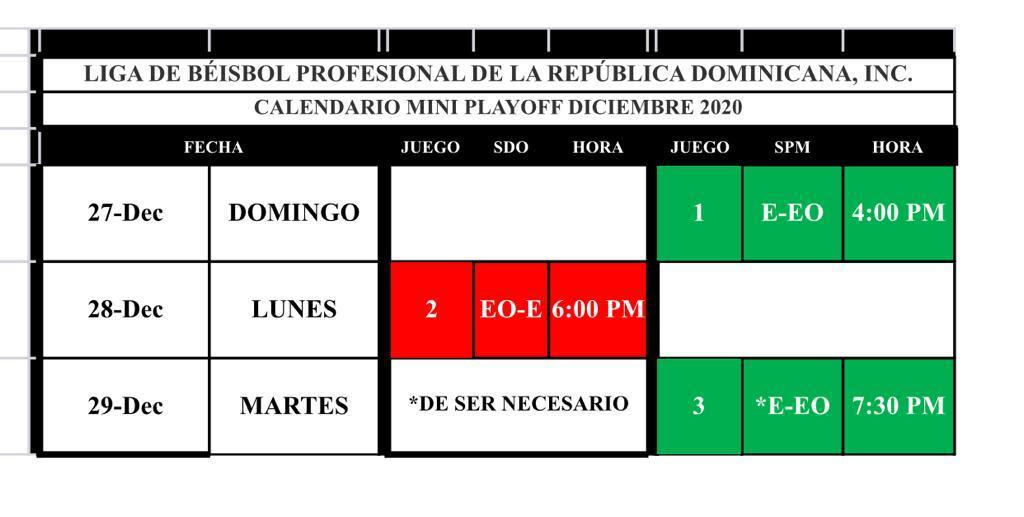 Lidom anuncia calendario miniplayoff Estrellas ante Leones; serie será a un 3-2